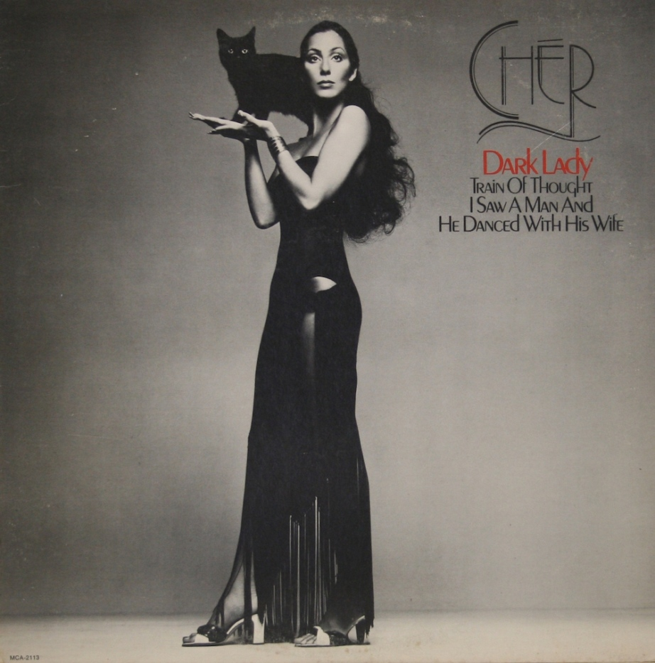 Does Cher's 1974 album cover remind you of Stevie Nick's Belladonna Album of 1981? ...Cher Factor!  Cher  Dark Lady, 1974 Fashion | Calvin Klein Photograph | Richard Avedon