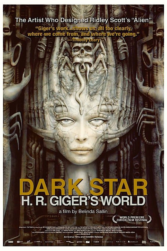 Art Therapy Dark Star: H.R. Giger's World Belinda Sallin | 2014 Eric Stitzel | Cinematography