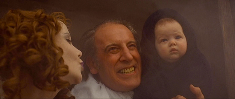 Father Granier's abandoned son is brought to watch his father's execution.  Georgina Hale  The Devils Ken Russell, 1971 Cinematography | David Watkin