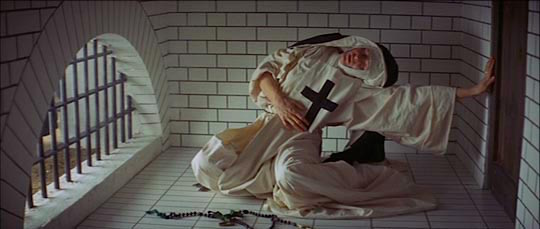 Vanessa Redgrave as Sister Jeanne of the Angels swoons her way into a disturbing world of Christ Imagery erotic daydreaming... The Devils Ken Russell, 1971 Cinematography | David Watkin