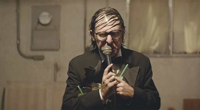 """Why? Why?! Why!?!?!!?"" Gregg Turkington as The Comedian Entertainment Rick Alverson, 2015 Cinematography 