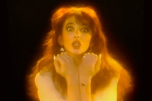 """Out on the wiley, windy moors we'd roll and fall in green. You had a temper, like my jealousy. Too hot, too greedy. How could you leave me when I needed to possess you? I hated you, I loved you too..."" Kate Bush Withering Heights promo vid-clip, 1978"
