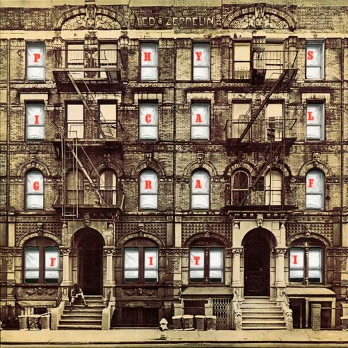 """Let me take you to the movies..."" Led Zeppelin  Physical Graffiti 