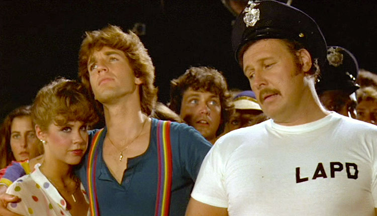 The LAPD is always trying to crash the fun... Roller Boogie Mark L. Lester, 1979 Cinematography | Dean Cundey