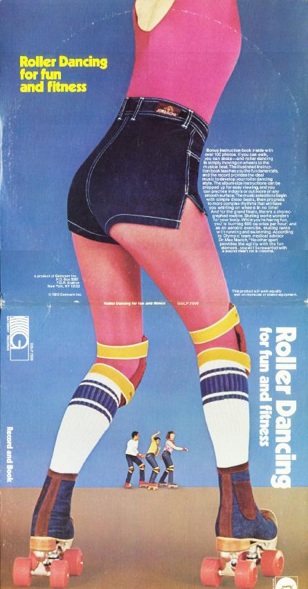 Roller Disco Dancin' Baby!