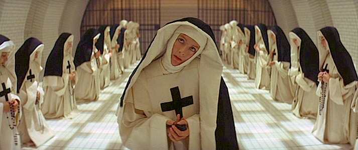 """Satan is ever ready to seduce us with sensual delights."" Vanessa Redgrave The Devils Ken Russell, 1971 Cinematography 