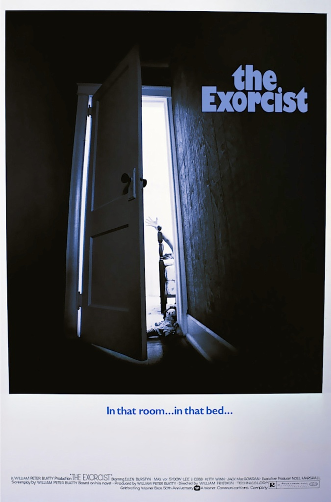 Marketing The Exorcist was challenging for Warner Brothers. It was clear to everyone that this was more than just a horror film. This early poster was rejected.  The Exorcist William Friedkin, 1973