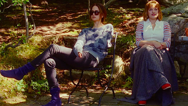 Katherine Waterston and Elisabeth Moss Queen of Earth Alex Ross Perry, 2015 Cinematography | Sean Price Williams