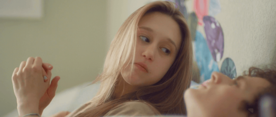 Taissa Farmiga loves Ben Rosenfield into a tight corner. 6 Years Hannah Fidell, 2015 Cinematography | Andrew Droz Palermo