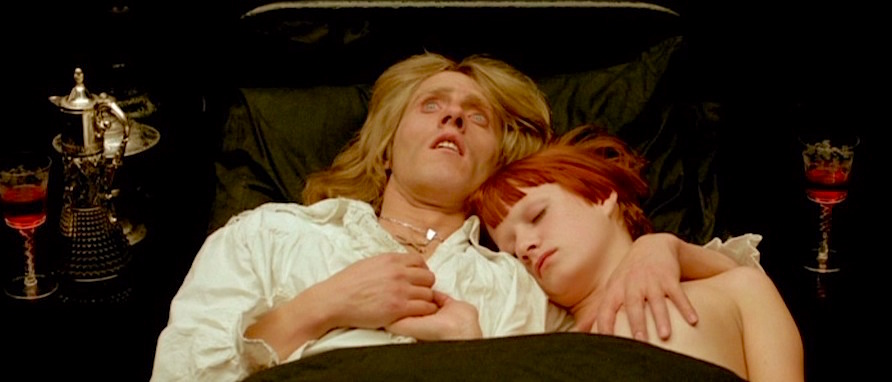 Comforted only be the boob of Little Nell, Franz finds little comfort in the isolation of the Catholic Church. But hold steady, Pope Ringo is on the way... Roger Daltrey / Little Nell Lisztomania Ken Russell, 1975 Cinematography | Peter Suschitzky