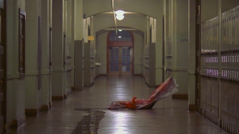Um, your slasher horror movie just took a very strange new turn... A Nightmare on Elm Street Wes Craven, 1984 Cinematography| Jacques Haitkin
