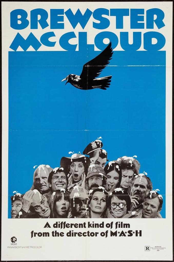 """""""Birdshit!"""" Brewster McCloud Robert Altman, 1970"""