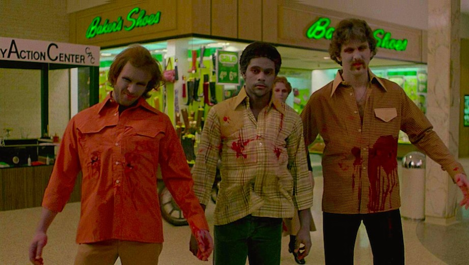 """What are they doing? Why do they come here?"" ""Some kind of instinct. Memory of what they used to do. This was an important place in their lives."" Zombies roam the mall for live flesh as the new commodity. Day of the Dead George A. Romero, 1978 Cinematography 