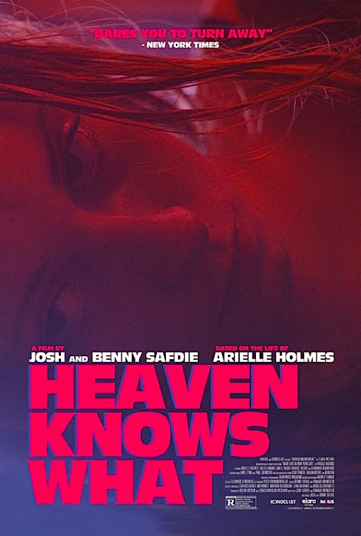 There can be no denial of this film's import and power. However, this film verges toward a an uncomfortable line... Heaven Knows What Benny Safdie & Josh Safdie, 2015