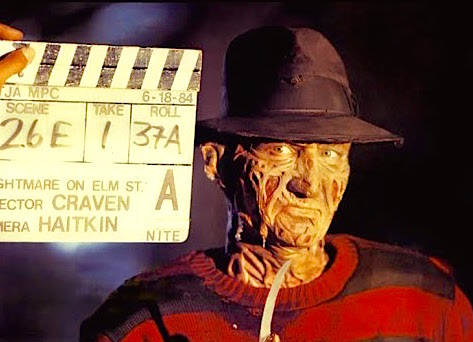 Robert Englund is ready for his close-up A Nightmare on Elm Street Wes Craven, 1984 Cinematography| Jacques Haitkin