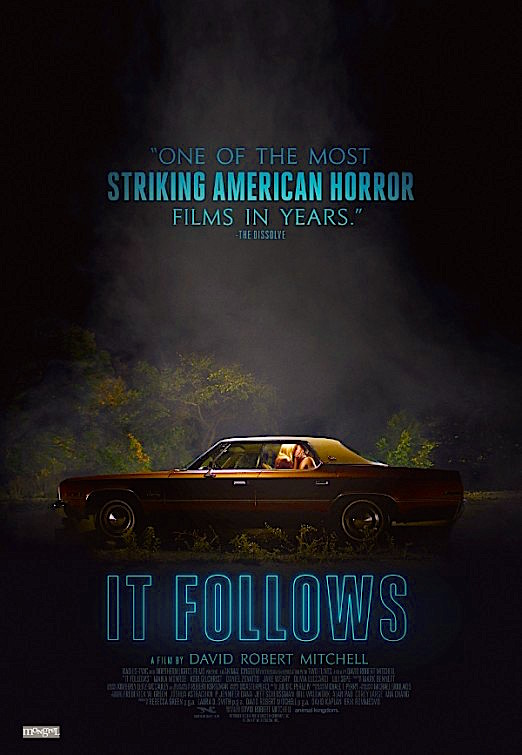 """You don't believe me do you?"" IT FOLLOWS David Robert Mitchell, 2015"
