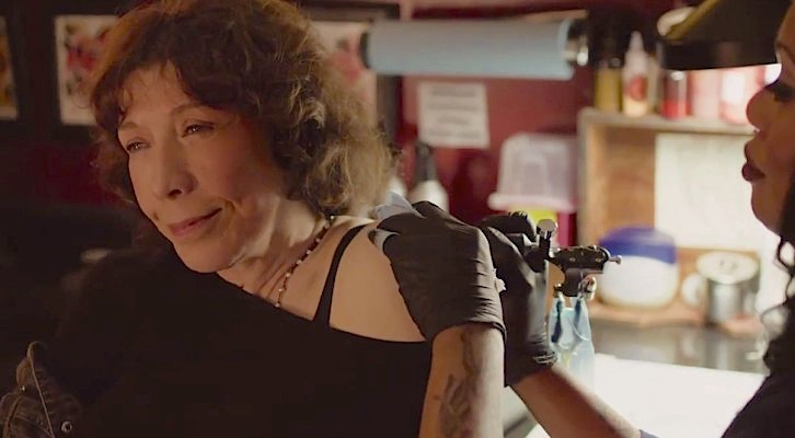 Lily Tomlin owns the show and the road. Grandma Paul Weitz, 2015
