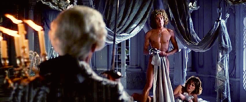 """Well, this will teach you not to BANG on the piano!"" Says The Count before extracting his revenge for catching Roger Daltrey and Fiona Lewis going at it. Lisztomania Ken Russell, 1975 Cinematography 