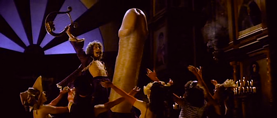 Super Ego translates to an erection beyond expectation and worthy of a British Hall musical dance. Roger Daltrey and his Rock Cock Rock Lisztomania Ken Russell, 1975 Cinematography | Peter Suschitzky