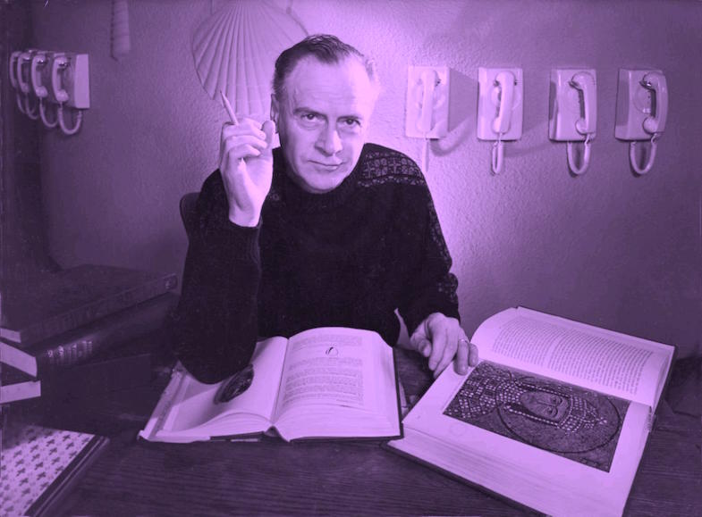 Marshall McLuhan circa 1970 Photographer | Unknown to me