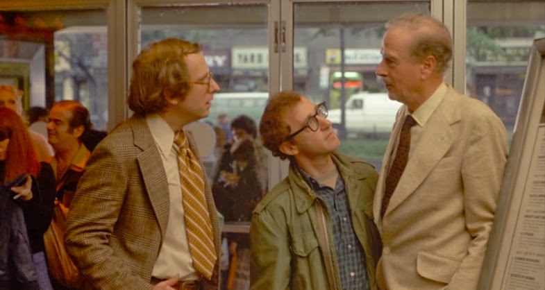 """I heard what you were saying! You know nothing of my work! You mean my whole fallacy is wrong. How you got to teach a course in anything is totally amazing!""  Marshall McLuhan stands up for Alvey Annie Hall Woody Allen, 1977 Cinematography 