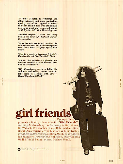 Girlfriends Claudia Weill, 1978