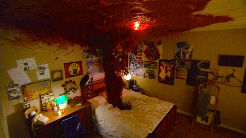 """Painting the bedroom """"Glen"""" A Nightmare on Elm Street Wes Craven, 1984 Cinematography