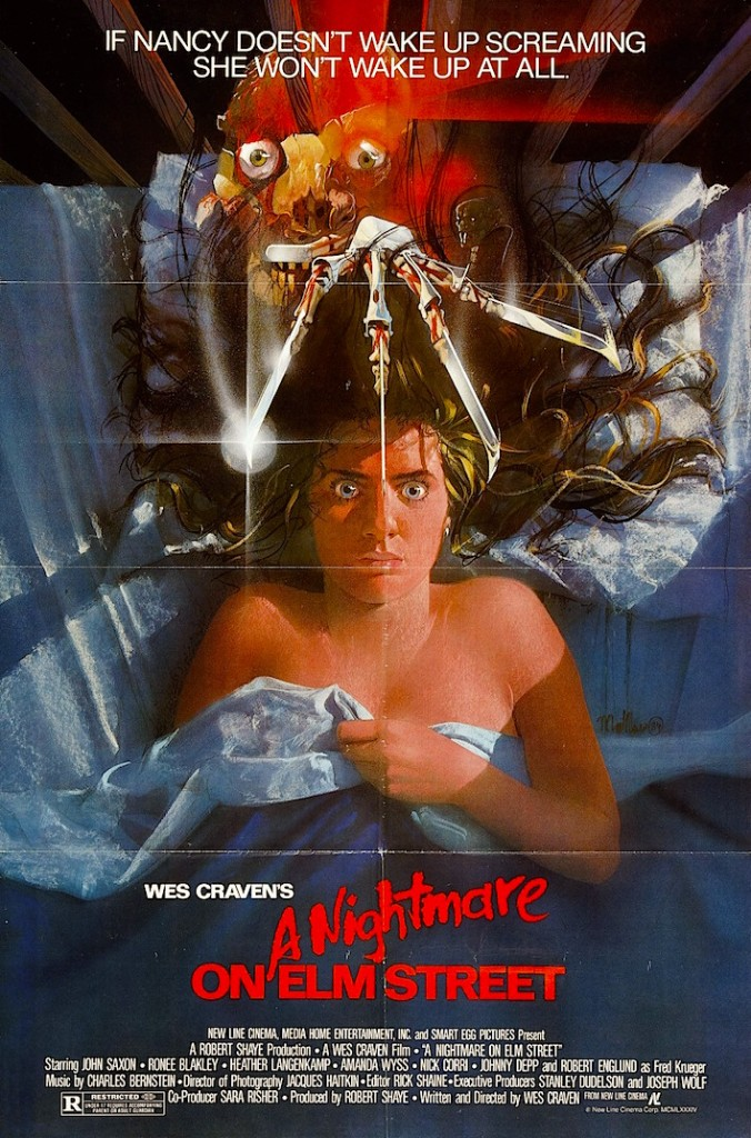 Can you remember when movie posters were still works of art?  A Nightmare on Elm Street Wes Craven, 1984