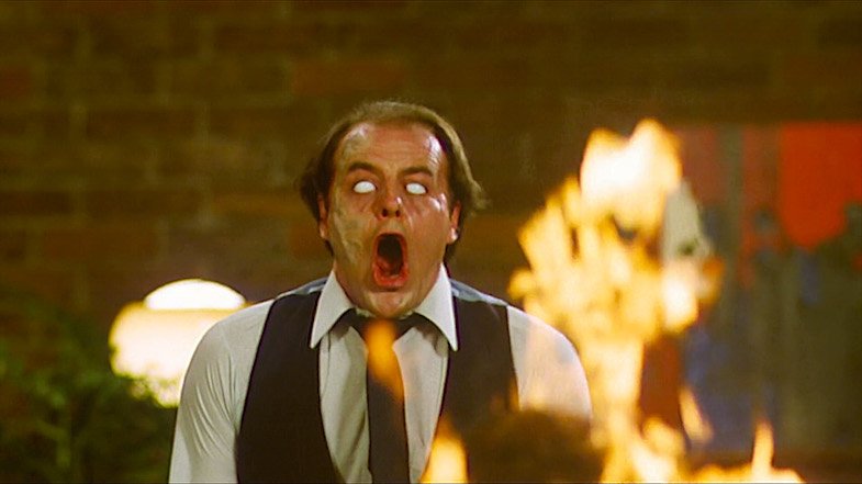 """How do you feel?"" ""I feel crystal clear."" Heads do not roll. They explode. Scanners David Cronenberg, 1979 Cinematography 