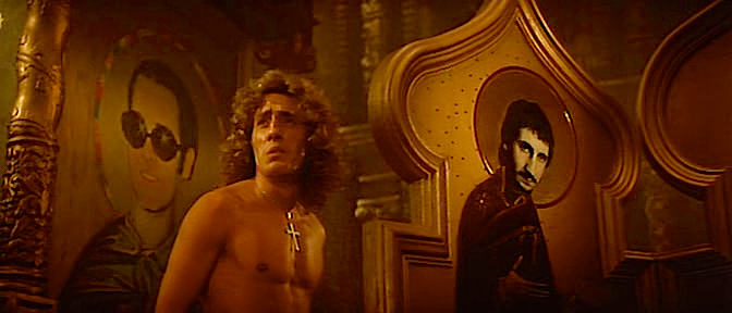 Who needs the old tired religious icons of dull saints and martyrs when we can worship St. Elton and St. Pete? Lisztomania Ken Russell, 1975 Cinematography | Peter Suschitzky