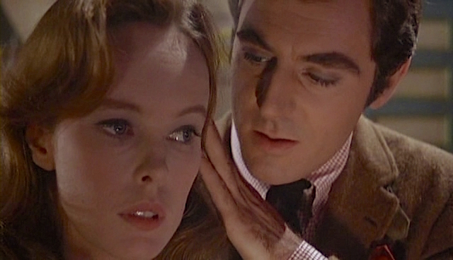 "Warner Brothers' consolation prize to Sandy Dennis for not casting her in the film of ""Any Wednesday.""  Sandy Dennis and Anthony Newley in Sweet November Robert Ellis Miller, 1968"