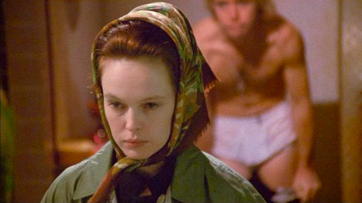 """Poor Miss. Frances Austen. She tries not to look, but she seems to live in a house of mirrors. And they are no longer reflecting """"reality"""" That Cold Day in the Park Sandy Dennis / Michael Burns Robert Altman, 1969 Cinematography 