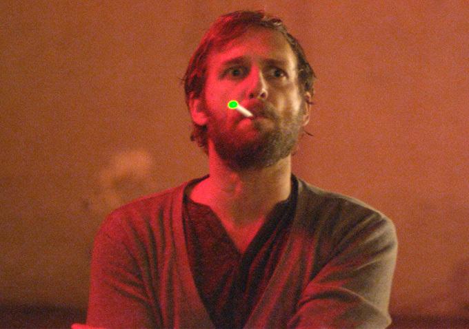 Josh Lucas, e-cigs, hair balls and rage.  The Mend John Magary, 2015