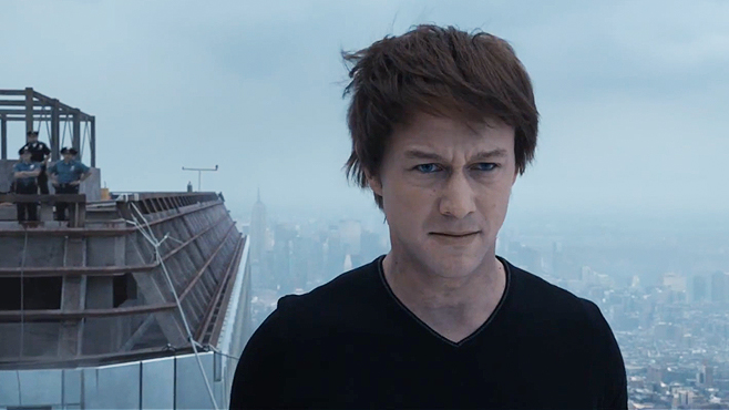 Joseph Gordon-Levitt as Philippe Petit The Walk Robert Zemeckis, 2015 Cinematography | Dariusz Wolski