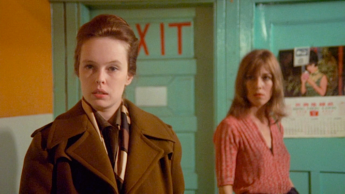 "Just because it says ""Exit"" doesn't mean it is a way out. Sandy Dennis That Cold Day in the Park Robert Atman, 1969 Cinematography 