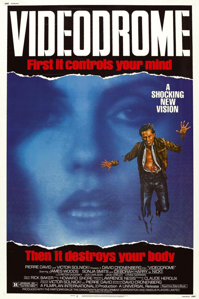 Videodrome David Cronenberg, 1983