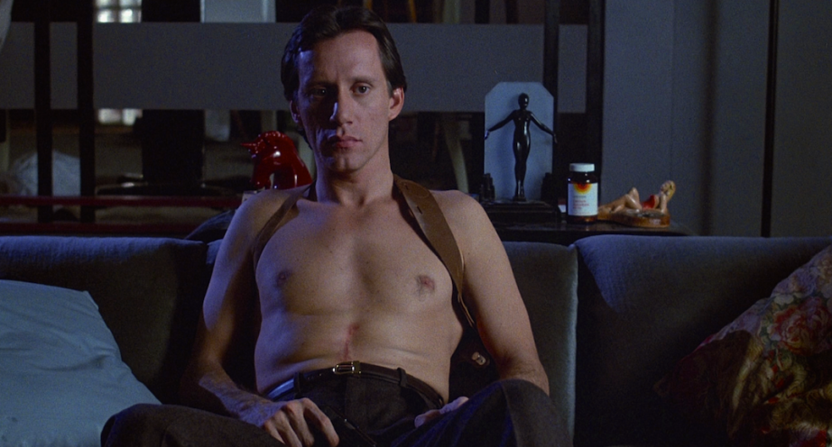 James Woods' Max Renn develops an odd itchy rash as he watches... Videodrome David Cronenberg, 1983 Cinematography | Max Irwin