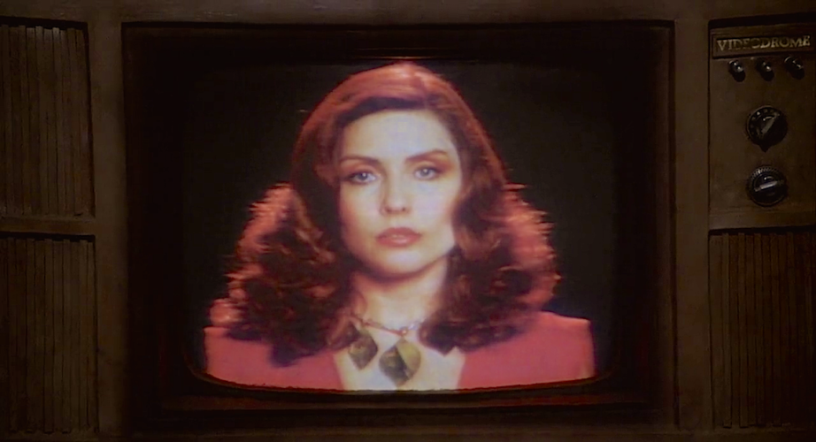 """Death to Videodrome. Long live the New Flesh."" Now, come to Nicki... Debbie Harry Videodrome David Cronenberg, 1983 Cinematography 