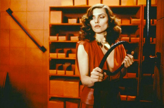 In 1983, it was shocking when Debbie Harry is suggested to supply a little bit of BDSM to get Max's changing body stimulated. In 2015, this medium of BDSM has already become passively engrained within the cultural mind.  Videodrome David Cronenberg, 1983 Cinematography | Max Irwin