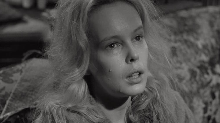 Never mix. Never worry. Sandy Dennis Who's Afraid of Virginia Woolf?  Mike Nichols, 1966 Cinematography | Haskell Wexler