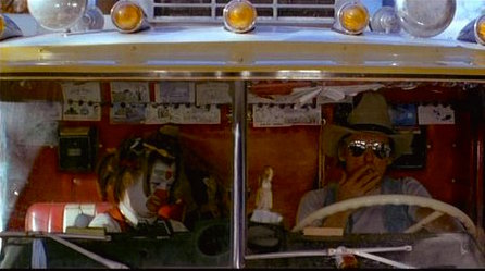 A child and her addicted father on a Halloween joy ride to school quickly switches to a tragic crash into a school bus... Out of the Blue Dennis Hopper, 1980 Cinematography | Marc Champion