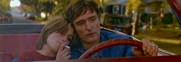 Despite it all, a child needs to love her parents. Linda Manz & Dennis Hopper Out of the Blue Dennis Hopper, 1980 Cinematography | Marc Champion