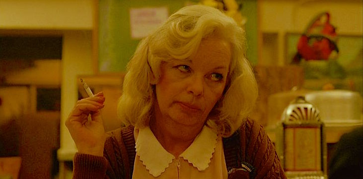 """Who's the towhead?"" Sandra Kinder as ""Irene"" That is her name and it is night. Don't go any further with it. There's nothing good about it."" Twin Peaks: Fire Walk With Me David Lynch, 1992 Cinematography 