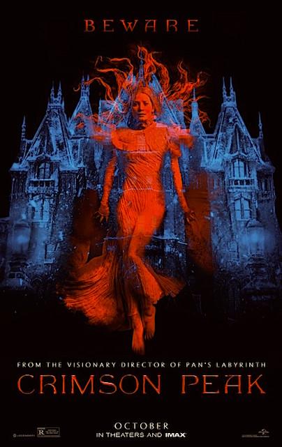 Crimson Peak Guillermo del Toro, 2015
