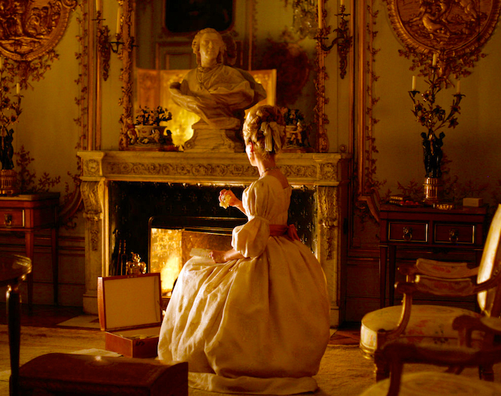 Even a historical fictionalization costume dram offers a realistic depiction of humanity... Diane Kruger as a real and very complicated Marie Antoinette Farewell, My Queen Benoît Jacquot, 2012 Cinematography | Romain Winding