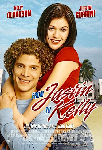 OK, come on. Do movies get any worse than this? And, no. It is not camp. It is just bad.  American Idol goes to the movies. RT currently ranks it at 10%. This might be a little bit harsh. It was better than Tarzan: The Ape Man... From Justin to Kelly Robert Iscove, 2003