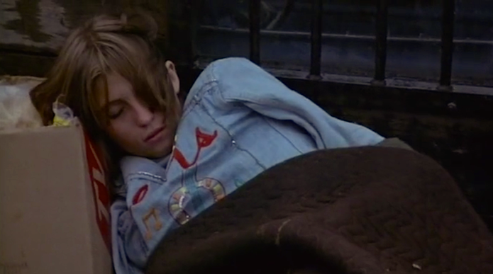 Sleeping on the streets seems a safer alternative to home. This is no late 70's After School Special. This is dire and real. Linda Manz Out of the Blue Dennis Hopper, 1980 Cinematography | Marc Champion