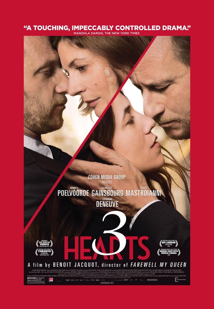 3 Hearts Benoît Jacquot, 2014