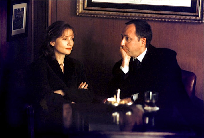 Please, whatever you do, do not cause a scene in public. Isabelle Huppert and Fabrice Luchini do not need much in the way of dialogue to express the complex and illogical of their choices and actions. Keep It Quiet Benoît Jacquot, 1999 Cinematography | Romain Winding