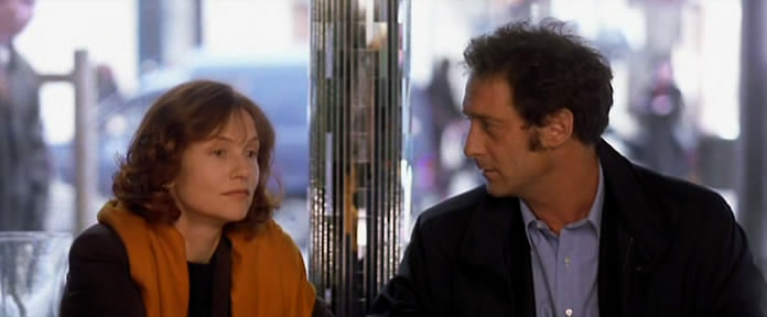 Is there more here than meets the eyes? Isabelle Huppert and Vincent Lindon Keep It Quiet Benoît Jacquot, 1999 Cinematography | Romain Winding